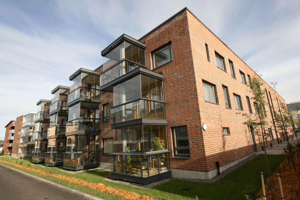 Asuinkerrostaloja Helsingissä